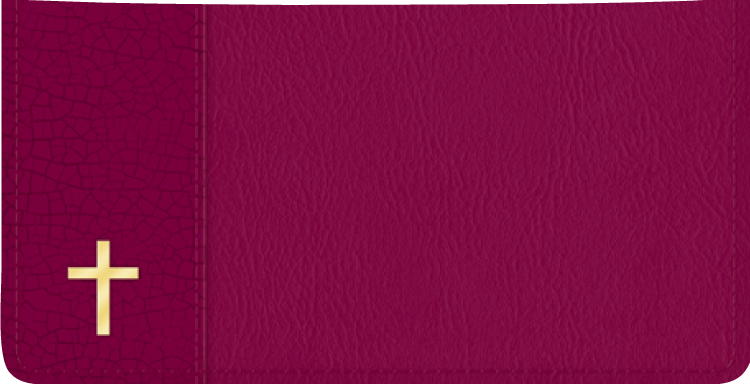Believe Checkbook Cover - click to view larger image