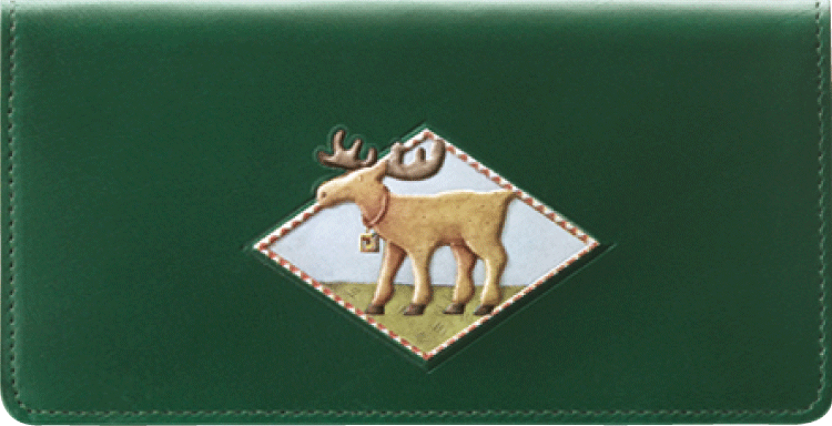 Cabin Fever Checkbook Cover - click to view larger image