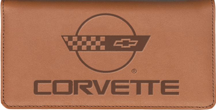Corvette Checkbook Cover