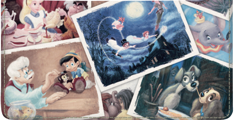 Disney Classics Checkbook Cover - click to view larger image