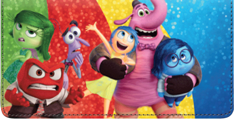 Disney/Pixar Inside Out Checkbook Cover - click to view larger image