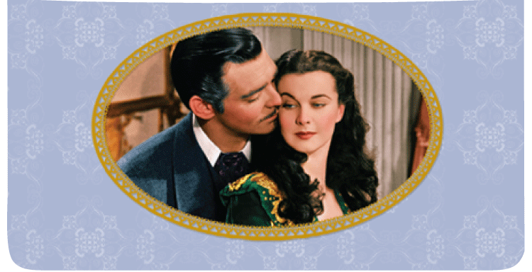 Gone With the Wind Checkbook Cover - click to view larger image