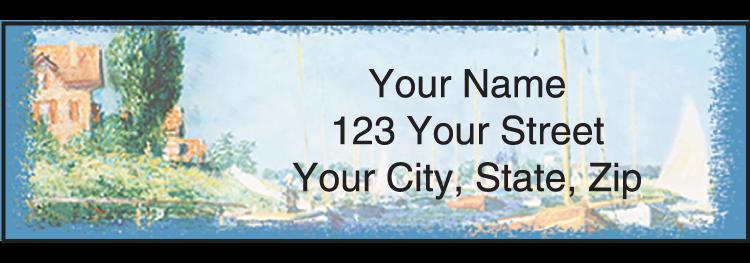 Impressionists Address Labels