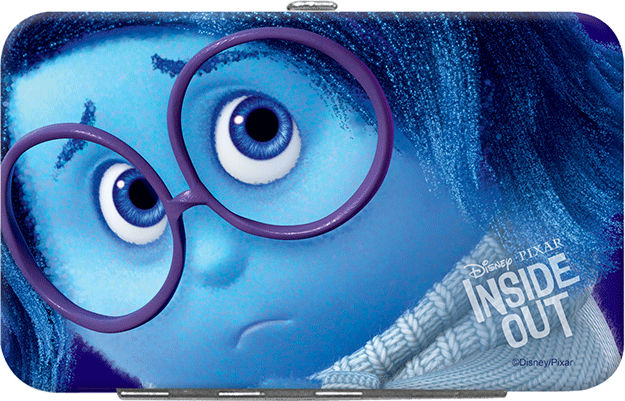 Disney/Pixar Inside Out ID Holder-Sadness - click to view larger image