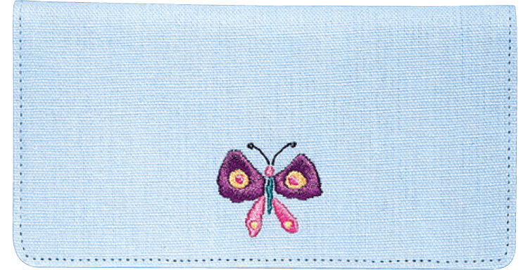 Kathy Davis Inspirations Davis Side Tear Checkbook Cover - click to view larger image