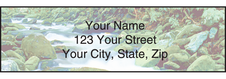 Peaceful Panoramas Address Labels - click to preview