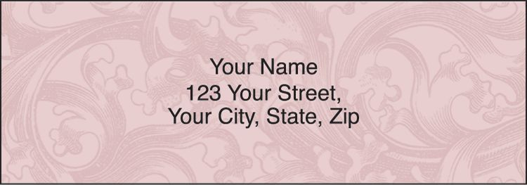 Renaissance Address Labels - click to view larger image