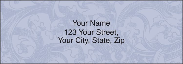 Renaissance Address Labels - click to preview