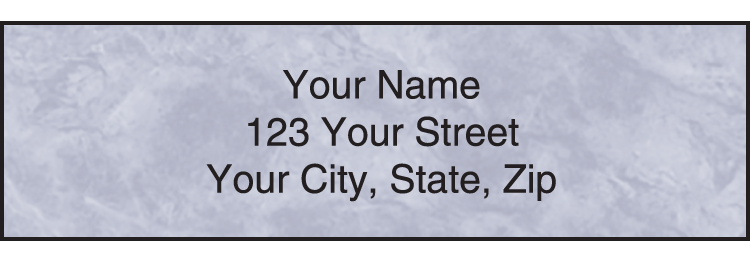 Royal Monogram Address Labels - click to view larger image