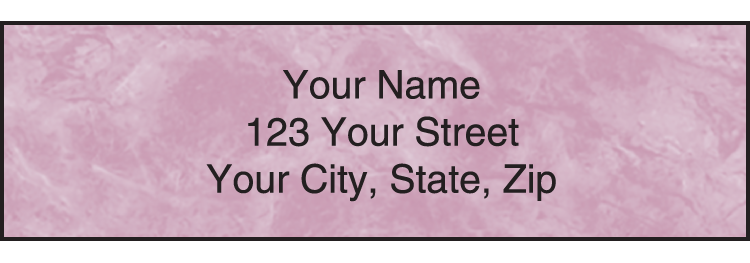 Royal Monogram Address Labels - click to preview