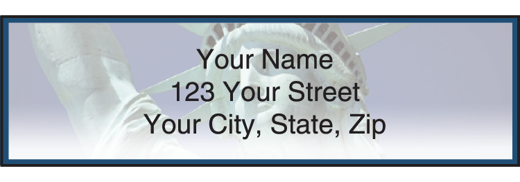 Scenic America Address Labels - click to view larger image