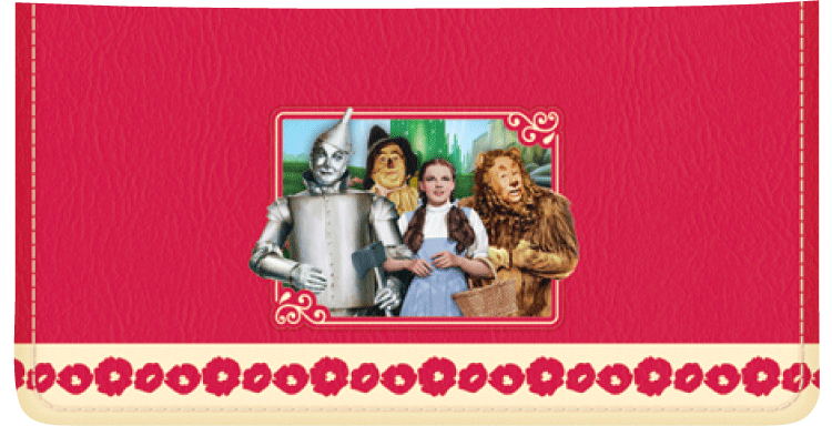 The Wizard of Oz Checkbook Cover - click to view larger image