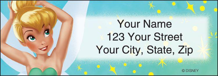 Tinker Bell Address Labels