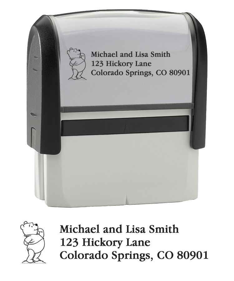 Winnie the Pooh Stamper - click to view larger image