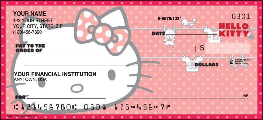 Hello Kitty Checks - click to preview