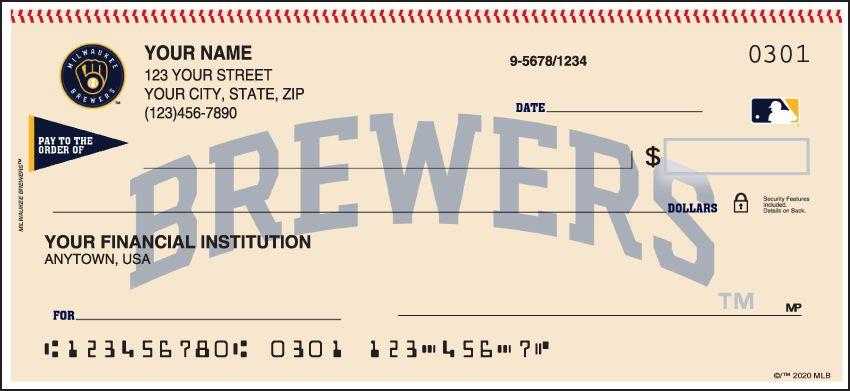 Milwaukee Brewers Bedroom In A Box Major League Baseball: Milwaukee Brewers Checks