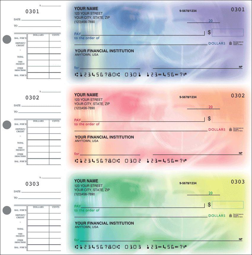Spectrum Desk Set Checks - click to view larger image