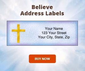Believe Address Labels