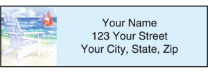 Seaside Address Labels – click to view product detail page