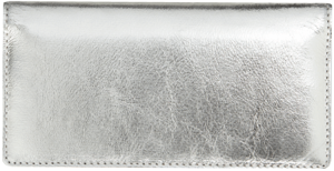Silver Metallic Checkbook Cover – click to view product detail page