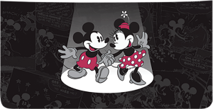 Mickey and Minnie Mouse Checkbook Cover – click to view product detail page