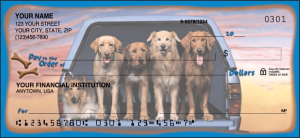 Dog Adventures Checks – click to view product detail page