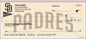 MLB - San Diego Padres Checks – click to view product detail page