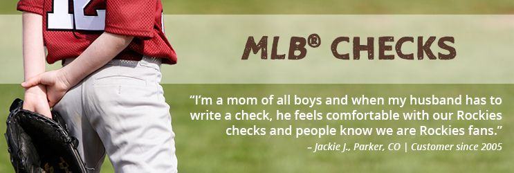 MLB Personal Checks