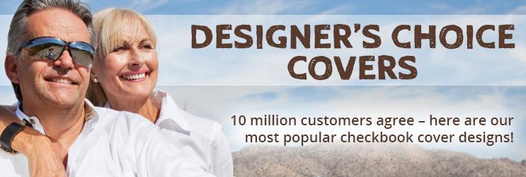 Designer's Choice Checkbook Covers