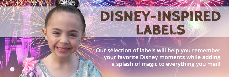 Disney Address Labels