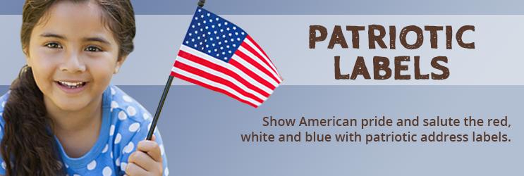 Patriotic Address Labels