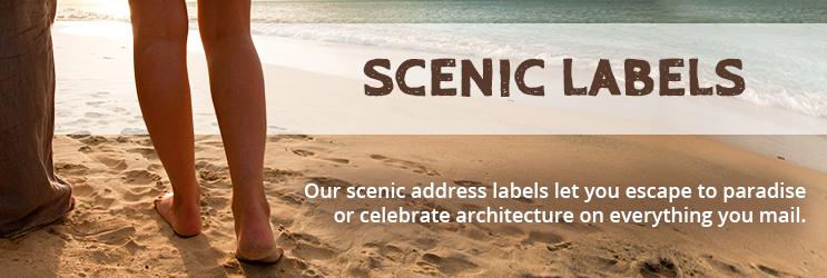 Scenic Address Labels