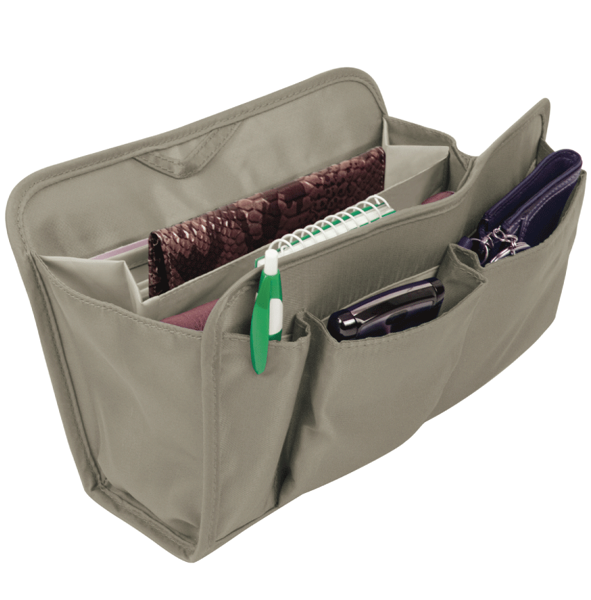 Purse Organizer Gray, Large