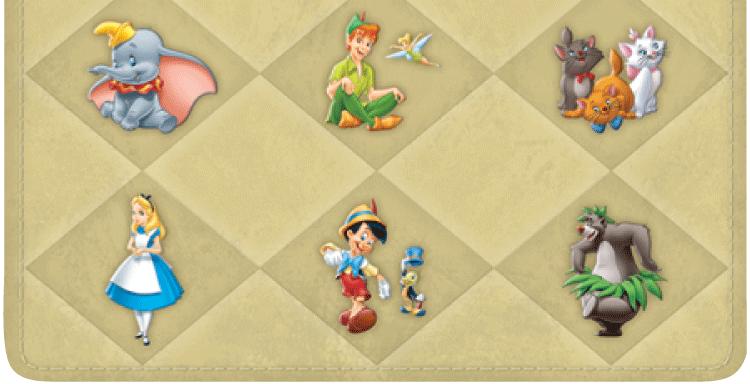 Classic Disney Checkbook Cover