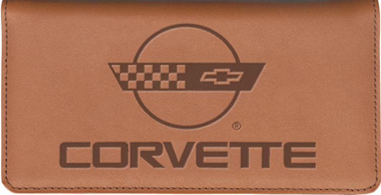 Corvette Checkbook Cover