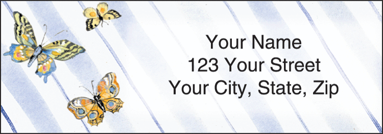 Cute As a Bug Address Labels - click to preview