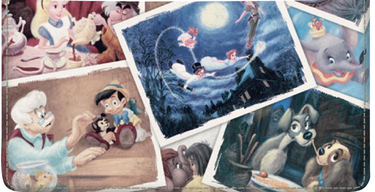 Disney Classics I Checkbook Cover