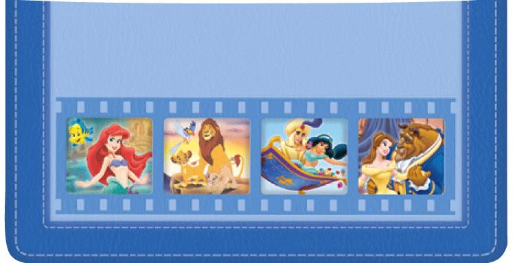 Disney Classics II Checkbook Cover
