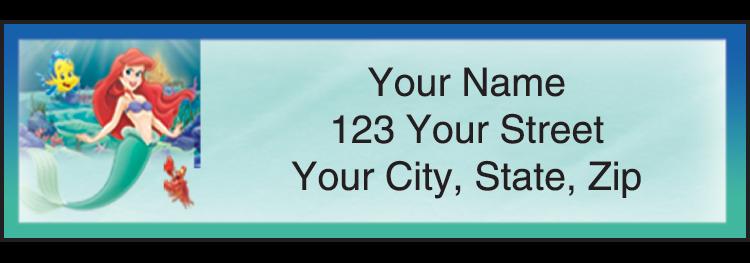 Disney Classics 2 Address Labels - click to preview