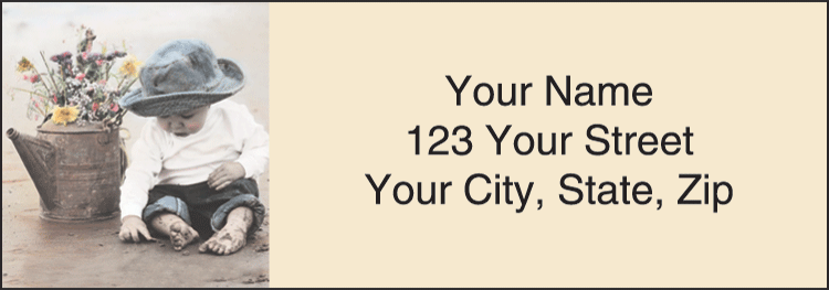 Forever Young Address Labels - click to preview