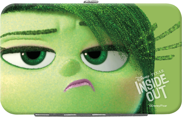 Inside Out Credit Card Holder Disgust