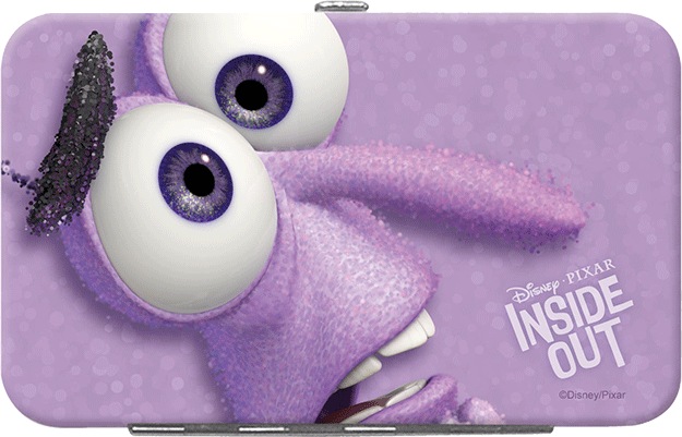 Inside Out Credit Card Holder Fear
