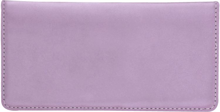 Lilac Checkbook Cover