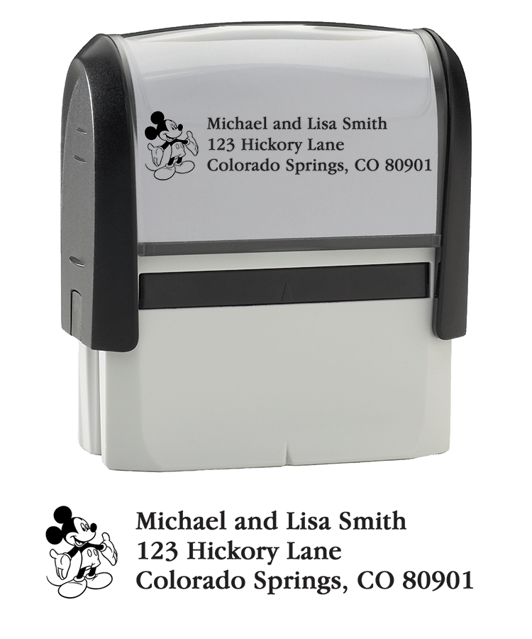 Mickey Mouse Stamper - click to view larger image