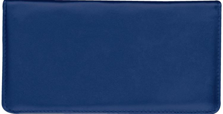 Navy Blue Side Tear Checkbook Cover