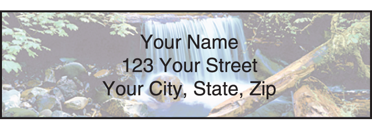 Peaceful Panoramas Labels - Set of 210