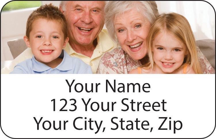 Photo Address Labels Set of 150