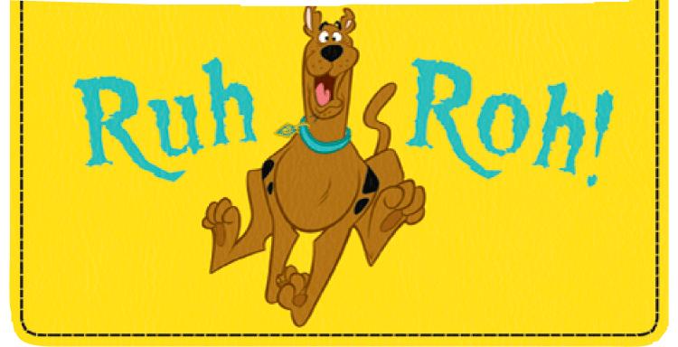 Scooby-Dooby-Doo Checkbook Cover