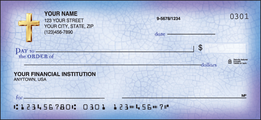 Believe Inspiration Personal Checks - 1 Box