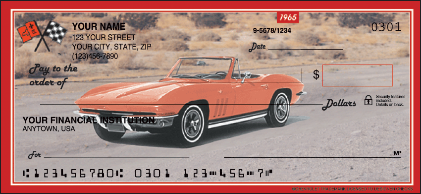 Corvette Checks - click to preview